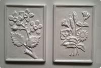 Forma do odlewów - Odlewy gipsowe - Obrazki Kwiaty (2713014)