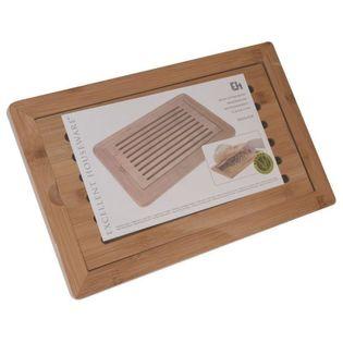 Bambusowa Deska Do Krojenia Chleba 38 X 24Cm Eh Excellent Houseware