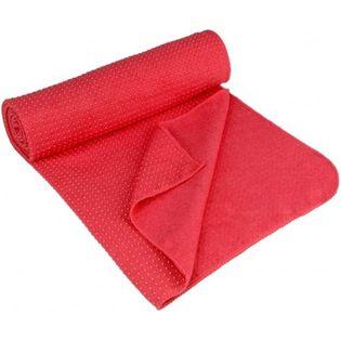Avento Antypoślizgowy Ręcznik Do Jogi Aura, Różowy