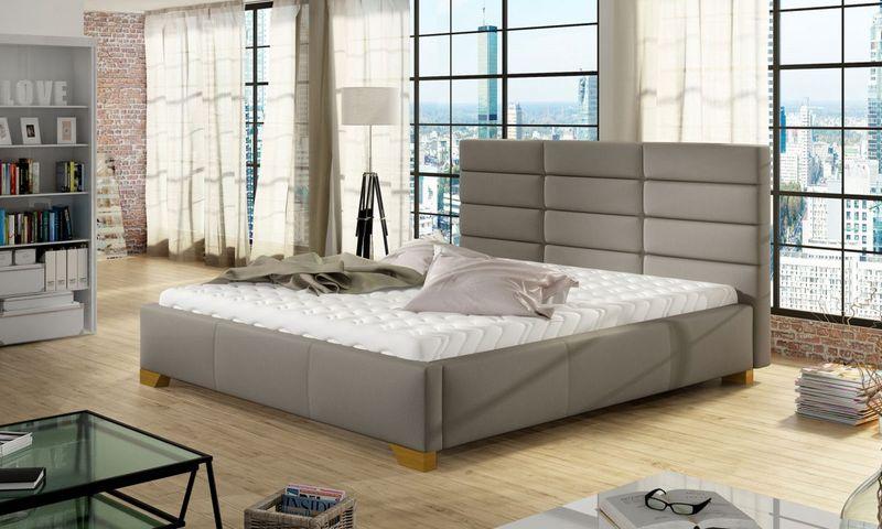 Łóżko Tapicerowane BRUNO 160x200+ Stelaż zdjęcie 1