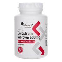 Aliness Colostrum Wołowe IG 40% - 100 kapsułek