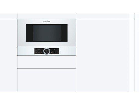 Bosch Bfr634gw1 Kuchnia Mikrofalowa