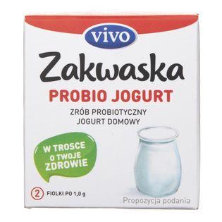 Vivo Zakwaska Probio Jogurt żywe kultury bakterii - 2 fiolki po 0,5 g