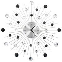Lumarko Zegar ścienny z mechanizmem kwarcowym, nowoczesny design, 50 cm