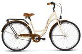 Rower miejski 26 VELLBERG NEXUS 3-biegi kremowo-brązowy
