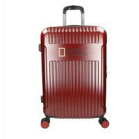 Duża walizka NATIONAL GEOGRAPHIC TRANSIT Czerwona