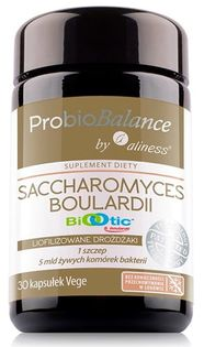 ProbioBALANCE, Saccharomyces Boualardii 5 mld/250mg x 30vkaps Aliness