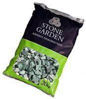 Dekor Ozd Grys Kamień Zielony Biały 10-20 mm 20 KG
