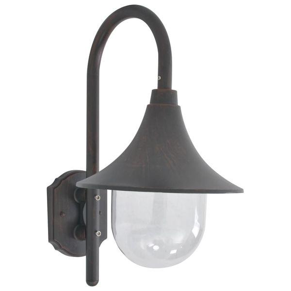LAMPA LAMPKA ŚCIENNA OGRODOWA ALUMINIUM 42cm zdjęcie 1