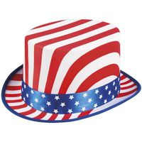 KAPELUSZ uncle sam WUJEK SAM amerykański FLAGA usa