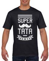 Koszulka męska SUPER TATA DZIEN OJCA c L