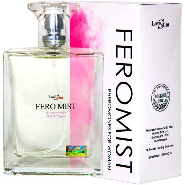 FERO-MIST NEW DAMSKIE PERFUMY Z FEROMONAMI 100ML ! zdjęcie 1