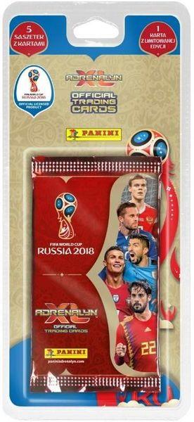 1fa374d2c Karty Piłkarskie BLISTER FIFA WORLD Russia 2018 • Arena.pl