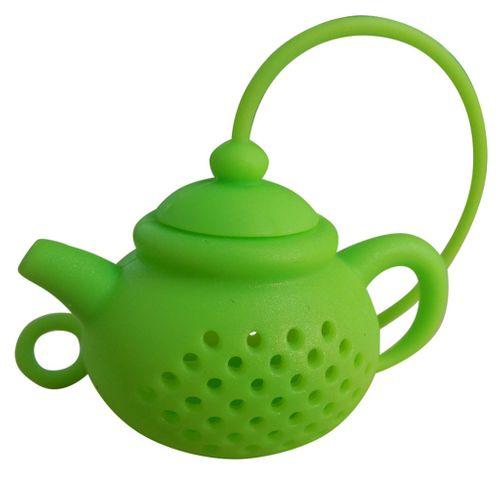 Zaparzacz do herbaty - Czajnik (Silikonowy) Czerwony na Arena.pl