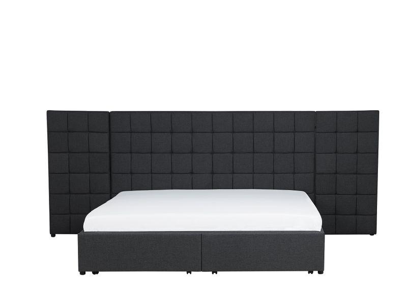 łóżko Rama łóżka Tapicerowane Stelaż Wezgłowie Nowoczesne 180x200cm Ekskluzywne