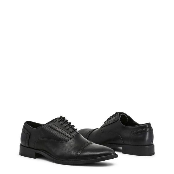 e0625b2e20382 Duca di Morrone pantofle półbuty męskie czarny 40 zdjęcie 11