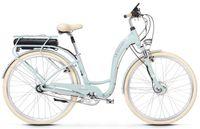 """Le Grand eLILLE 2 D 28 L(19"""") szar-ziel - biał mat elektryczny rower elektryczny"""