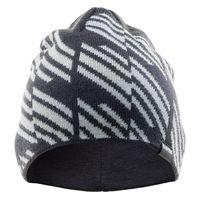 Męska czapka zimowa Hi-Tec Sylt szaro-biała rozmiar uniwersalny