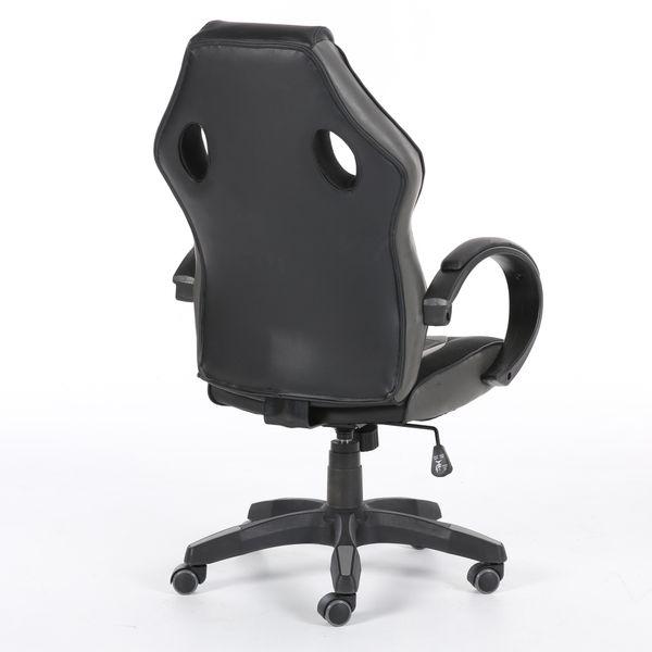 Obrotowy fotel gamingowy NORDHOLD - ULLR gracz - szary/gray zdjęcie 6