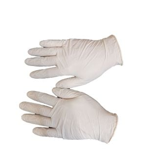 Rękawiczki jednorazowe lateksowe roz. S 100szt.