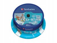 CD-R VERBATIM 700MB PRINTABLE do nadruku