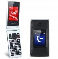 MYPHONE TANGO Z KLAPKĄ 2,4'' 3G DUAL DLA SENIORA
