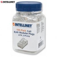Wtyk Intellinet RJ45 8P/8C UTP Cat.6/linka 100szt. IWP-JAR-C6FL