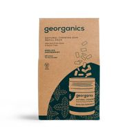 Georganics, Naturalna guma do żucia, English Peppermint, 180 gum