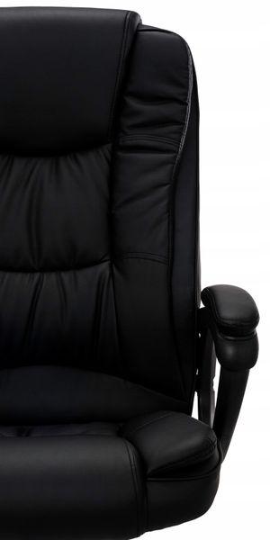 FOTEL BIUROWY OBROTOWY CHROM krzesło biurowe AMBIENTE zdjęcie 7