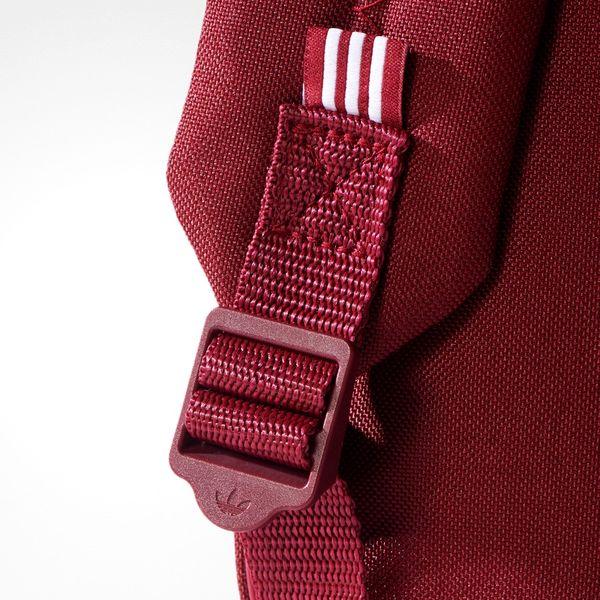 nowy przyjeżdża najnowsza kolekcja zasznurować Plecak szkolny Adidas Originals Classic Trefoil BP7303 Bordo szkolny