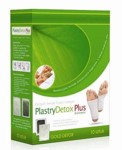PLASTRY oczyszczające DETOX PLUS detoksykacja na Arena.pl