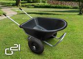 Taczka ogrodowa G21 Maxi 150