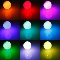 Żarówka LED E27 RGB 5W RÓŻNE KOLORY PILOT GRATIS!