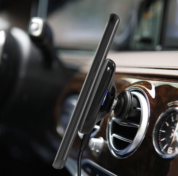 Ładowarka samochodowa indukcyjna magnetyczna Nillkin Magnetic Car Charger II 10W zdjęcie 8