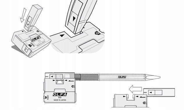 Olfa - Nóż do precyzyjnego cięcia AK-5 (następca A na Arena.pl