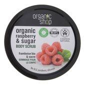 Organic Shop Peeling do ciała Malinowy krem - 250 ml