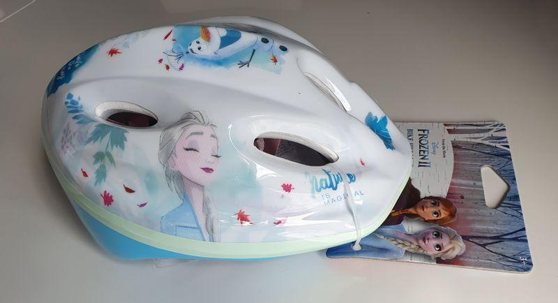 Kask rowerowy Frozen Kraina Lodu ochraniacze, rękawiczki na Arena.pl