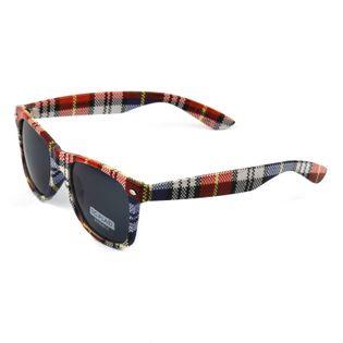 Okulary przeciwsłoneczne Wayfarer w kratę COOL