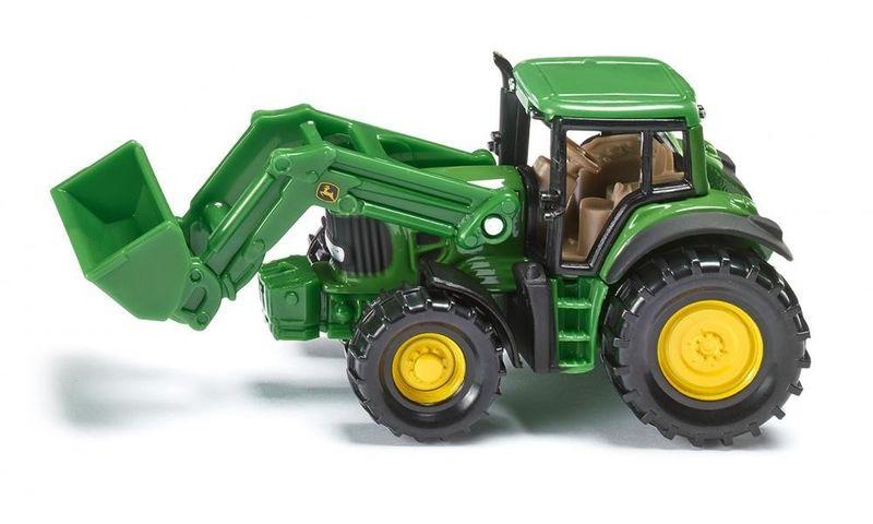 Traktor John Deere z przednią ładowarką zdjęcie 1
