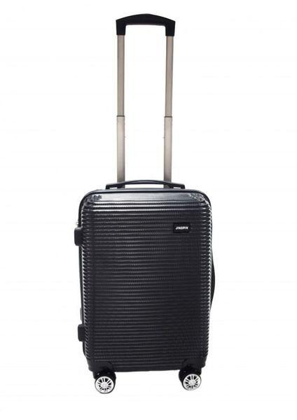 WALIZKA walizki kółka torba samolot ZESTAW M + L CZARNE 1073+1074 zdjęcie 3