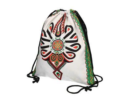 Worek sportowy/plecak - wzory góralskie - parzenica