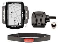 Licznik rowerowy LEZYNE MEGA XL GPS HRSC Loaded (w zestawie opaska na serce + czujnik prędkości/kadencji) (NEW)