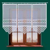 Panel żakardowy TREVO - 120x60cm - biały zdjęcie 1