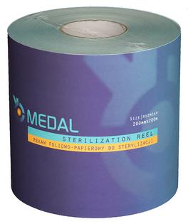 Rękaw do sterylizacji 20cm x 200m Medal