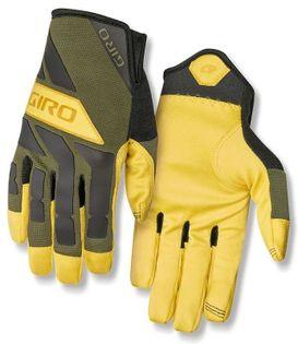 Rękawiczki męskie GIRO TRAIL BUILDER długi palec olive buckskin roz. XL (obwód dłoni 248-267 mm / dł. dłoni 200-210 mm) (NEW)