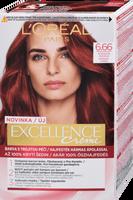 L´Oréal Paris Excellence Creme Triple Protection Farba do włosów 48ml 6,66 Intense Red