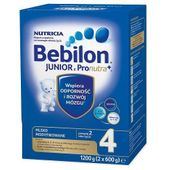 Bebilon 4 Junior z Pronutra+, mleko modyfikowane pow 2r. życia, 1200 g