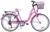 Rower Fuzlu 24 Montana 6s różowy