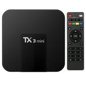 TV BOX TX3 Mini 1/8 GB SMART 4K ANDROID 7.1 PL KODI Wi-Fi
