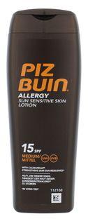 PIZ BUIN Allergy Sun Sensitive Skin Lotion SPF15 Preparat do opalania ciała 200ml